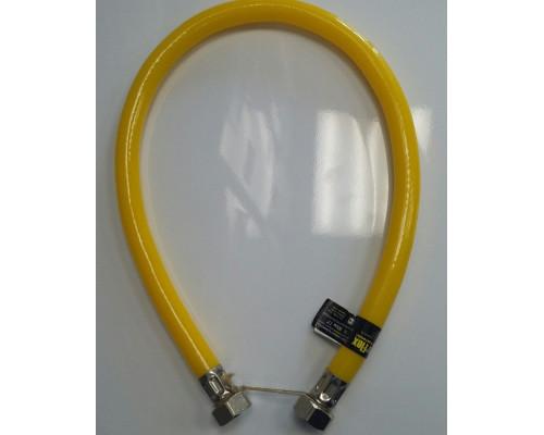 Подводка (шланг) гибкая полимерная 3/4 0.8 м гайка/гайка