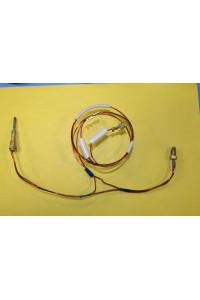 Термопара на колонку Астра (2-х проводная), резьба М8х1, L-350 мм, (провод датчика L-550 мм) в группе  ЗАПЧАСТИ от производителя АСТРА