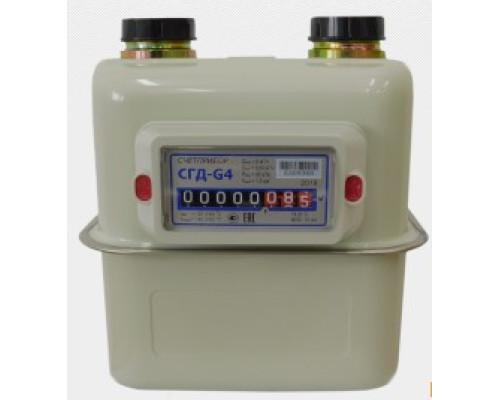 Счетчик газа СГД-G4 слева-направо