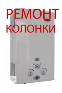 Ремонт газовых колонк в группе  УСЛУГИ от производителя
